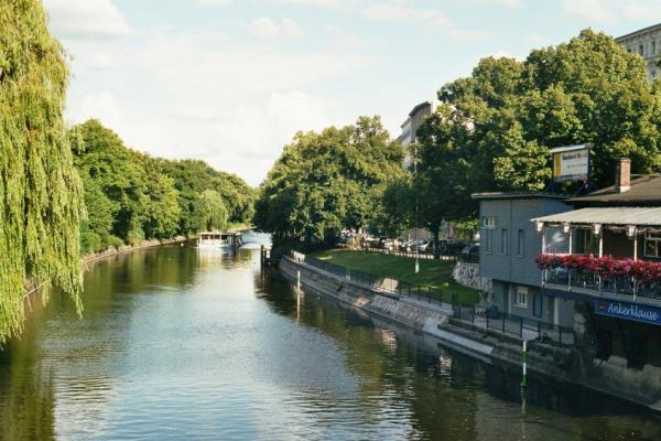 Canal dans Kreuzberg