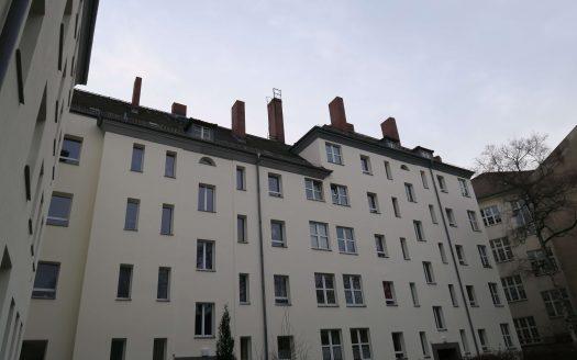 Facade intérieure de l'immeuble