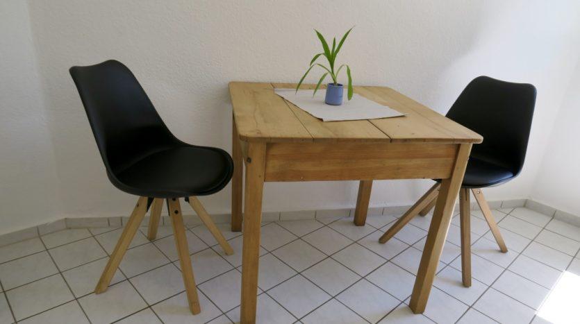 Table et chaises de la cuisine
