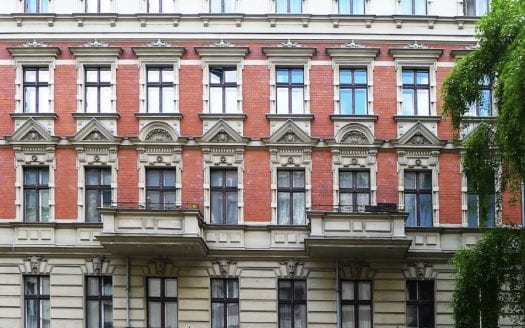 Facade de l'immeuble
