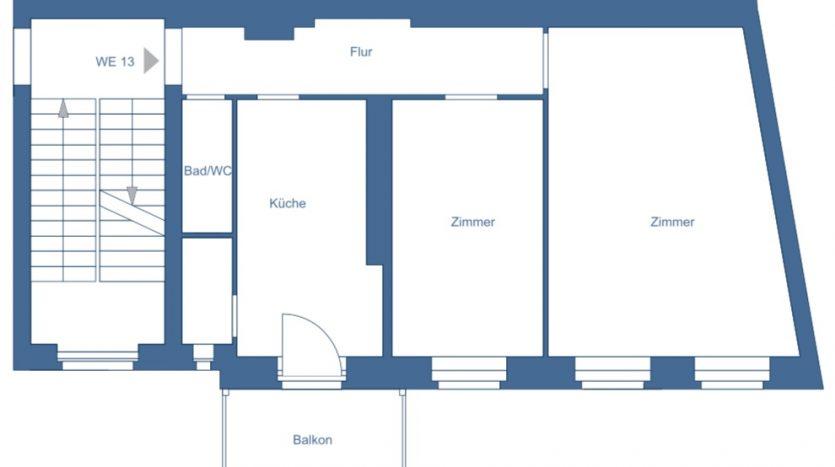 Plan de l'appartement