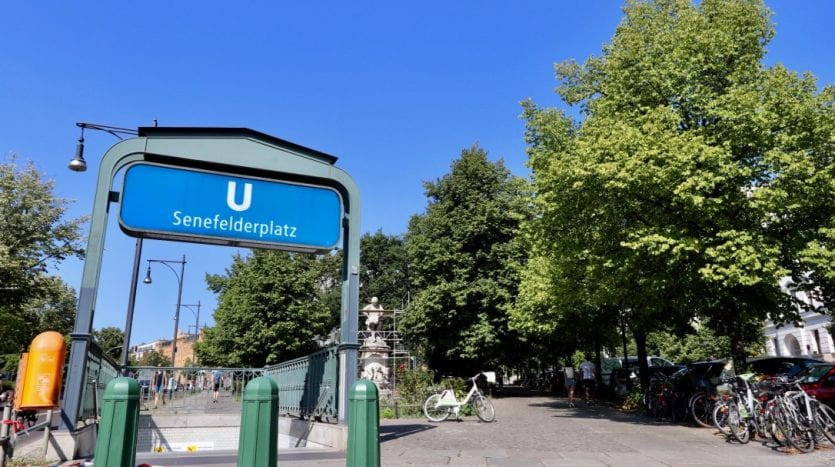 Proche métro U2