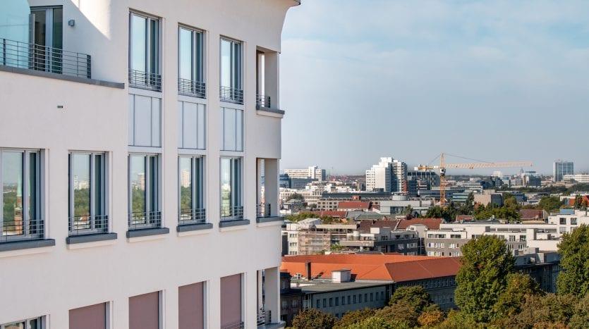 Immeuble et vue