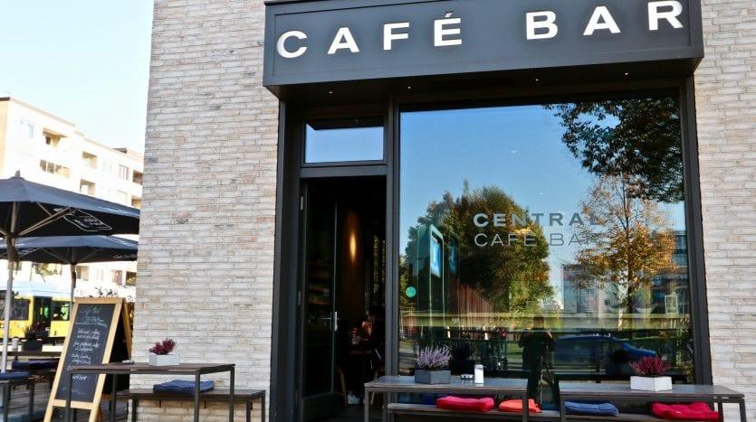 Café dans l'immeuble