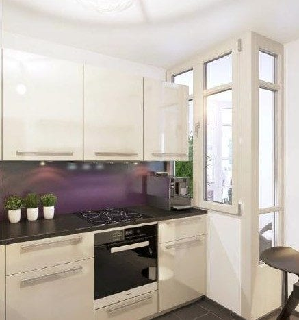 Appartement témoin - Cuisine