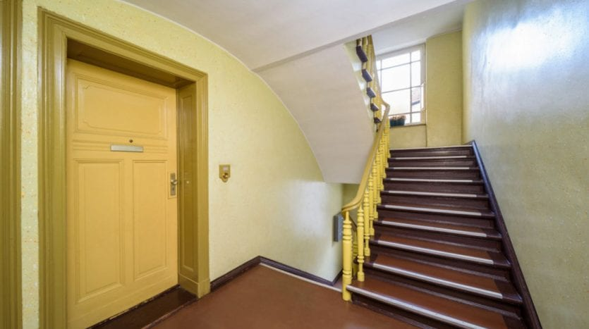 Escaliers de l'immeuble
